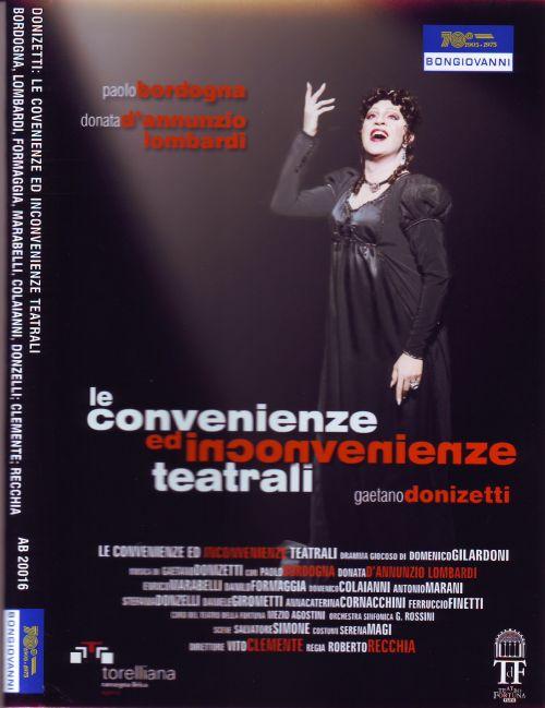 DVD Donizetti Le convenienze ed inconvenienze teatrali